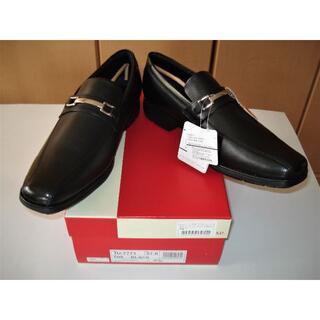 アシックス(asics)の♪TEXCY LUXEビジネスシューズ 本革 ブラック 27cm(ドレス/ビジネス)