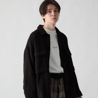 HARE - BIGウールキモウCPOシャツ(HARE)