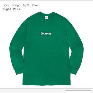 Supreme - supreme Box Logo TEE light pine XL