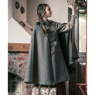 アクシーズファム(axes femme)のアクシーズファム ナポレオン風マントコート ナポレオン風コート ケープ(ポンチョ)