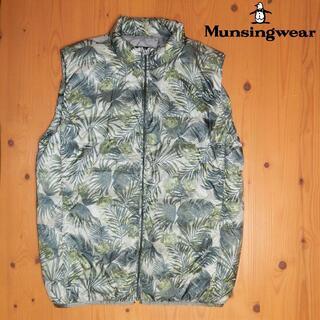 マンシングウェア(Munsingwear)のMunsingwear|マンシングウェア ダウンベスト L(ダウンベスト)