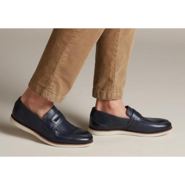 Clarks(クラークス)の新品未使用!クラークス*ローファー メンズの靴/シューズ(その他)の商品写真
