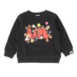 A BATHING APE - A BATHING APE BABY MILO FRIENDS CREWNECK