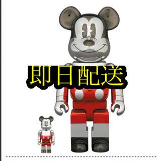 メディコムトイ(MEDICOM TOY)のBE@RBRICK FUTURE MICKEY 100% & 400%(キャラクターグッズ)