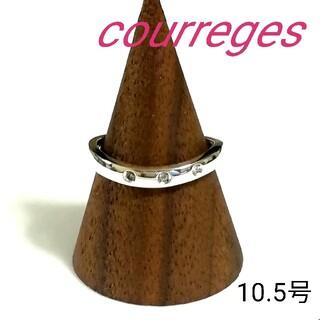 クレージュ(Courreges)のcourreges シルバーリング 10.5号 (美品)(リング(指輪))