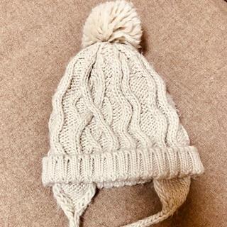 ザラキッズ(ZARA KIDS)のzara baby accessories ニット帽 グレー ベビー キッズ(帽子)