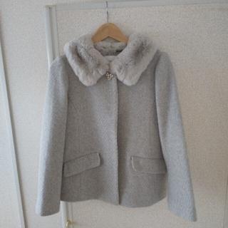クチュールブローチ(Couture Brooch)の新品未使用 ♡ファー付きショートコート♡(毛皮/ファーコート)