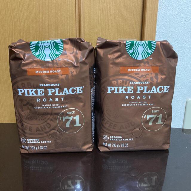 Starbucks Coffee(スターバックスコーヒー)のスターバックスコーヒー pikeplaceroast パイクプレイスロースト 食品/飲料/酒の飲料(コーヒー)の商品写真