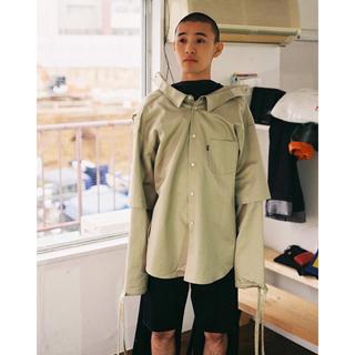 ジエダ(Jieda)のKudos 18SS double sleeve work shirt(シャツ)