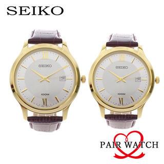 セイコー(SEIKO)のペアウォッチ セイコー 腕時計 SUR298P1SUR644P1 シルバー(腕時計(アナログ))