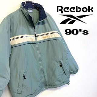 リーボック(Reebok)の美品 90's Reebok プリマロフトジャケット レトロカラー メンズM(ブルゾン)