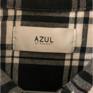 アズールバイマウジー(AZUL by moussy)のAZUL moussy チェックシャツ(シャツ/ブラウス(長袖/七分))