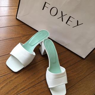 フォクシー(FOXEY)のフォクシー♡ミュール☆36.5(ミュール)
