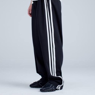 【稀少サイズ】Y-3 3Stripes Selvedge Wide Pants