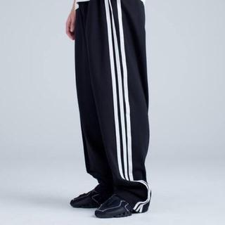 ワイスリー(Y-3)の【稀少サイズ】Y-3 3Stripes Selvedge Wide Pants(スラックス)