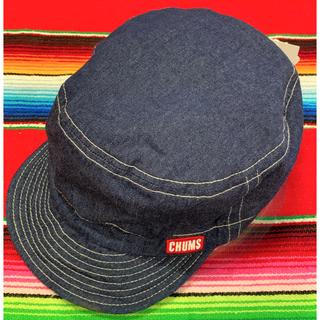 チャムス(CHUMS)の新品 CHUMS TG Cap チャムス  キャップ デニム(キャスケット)