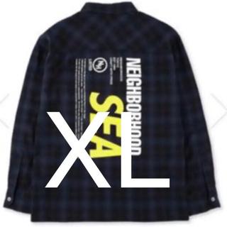 ネイバーフッド(NEIGHBORHOOD)のNEIGHBORHOOD WIND AND SEA C-SHIRT XL(シャツ)