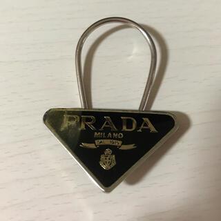 プラダ(PRADA)のPRADA キーホルダー ブラック(キーケース)