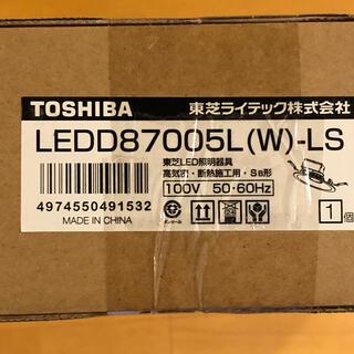 東芝 LEDダウンライト LEDD87005L(W)-LS 5個 電球色