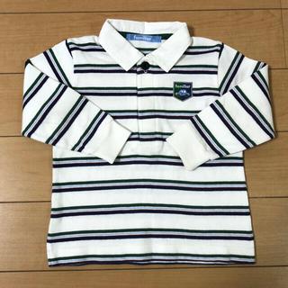 familiar - familiar  90cm ポロシャツ  長袖