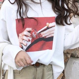 フリークスストア(FREAK'S STORE)の【新品未使用】Malboro♥タバコ柄Tシャツ(Tシャツ/カットソー(半袖/袖なし))