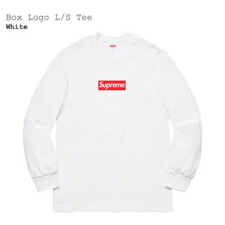 Supreme - Supreme  Box Logo L/S Tee  White シュプリーム