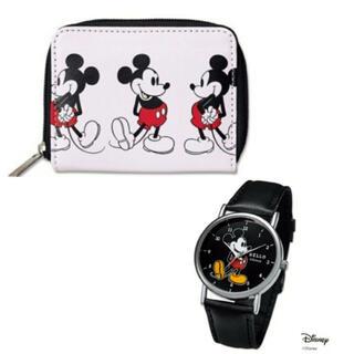 ミッキーマウス(ミッキーマウス)のミッキー 付録セット(財布)