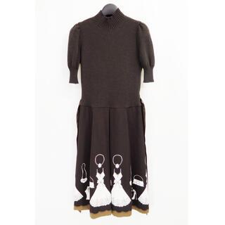エムズグレイシー(M'S GRACY)のM'S GRACY エムズグレイシー ブティック ニット ドレス ワンピース(ロングワンピース/マキシワンピース)