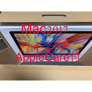 Mac (Apple) - iMac 2017 27インチ 1TB 5K AppleCare付