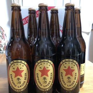 サッポロ - 送料無料!非売品!サッポロラガービール大ビン633ml×6本入 新品