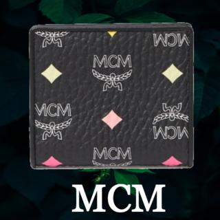 エムシーエム(MCM)の★SALE☆【MCM】 ロゴ 二つ折り財布(財布)