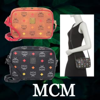エムシーエム(MCM)の★SALE☆【MCM】 ロゴ クロスボディカメラバッグ ショルダーバック(ショルダーバッグ)