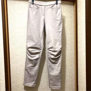 シャルレ(シャルレ)のシャルレET111 パンツ グレーホワイト(カジュアルパンツ)
