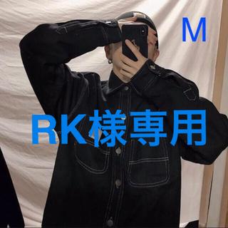 カーハート(carhartt)の専用!カーハートデニムジャケット黒M &オーバーオール黒S(Gジャン/デニムジャケット)