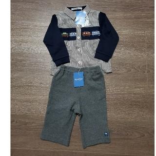 familiar - familiar 新品シャツ・パンツ90