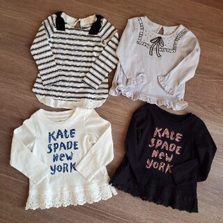 ケイトスペードニューヨーク(kate spade new york)のkate spade 長袖カットソー4枚セット100(Tシャツ/カットソー)