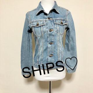シップス(SHIPS)のSHIPS☆ライトブルー定番デニムジャケット(Gジャン/デニムジャケット)
