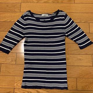 ハニーズ(HONEYS)のハニーズ ボーダー Tシャツ ネイビー(Tシャツ(長袖/七分))