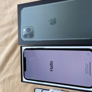 NTTdocomo - 美品 iPhone 11 Pro Max 256GB ミッドナイトグリーン