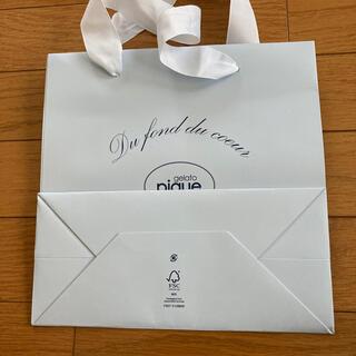 ジェラートピケ(gelato pique)のジェラートピケ紙袋(ショップ袋)