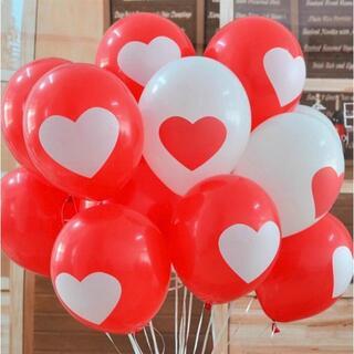 ハート柄の風船 風船 バルーン 誕生日お祝い 記念日 誕生日 (16個入り)(ウェルカムボード)