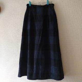 スタディオクリップ(STUDIO CLIP)のブロックチェック ロングスカート(ロングスカート)