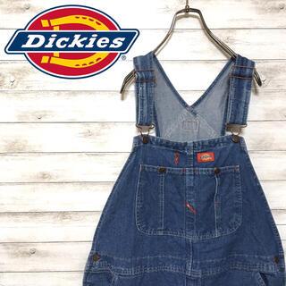 ディッキーズ(Dickies)の激レア 90s ディッキーズ オーバーオール デニム ビックシルエット(サロペット/オーバーオール)