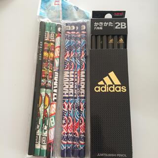 アディダス(adidas)のアディダス2B鉛筆1ダース おまけ付き(鉛筆)