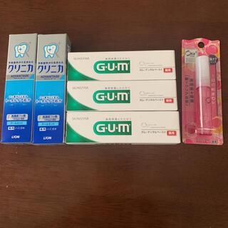 G•U•M3本&クリニカ2本&オーラツーマウススプレー1本