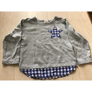 アカチャンホンポ(アカチャンホンポ)の赤ちゃん本舗★100㎝重ね着風の服(Tシャツ/カットソー)