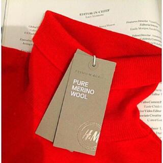 エイチアンドエム(H&M)の新品 H&M MERINO WOOL PREMIUM QUALITY(ニット/セーター)