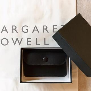 マーガレットハウエル(MARGARET HOWELL)の2020新作 未使用 マーガレットハウエル×ポーター オイルレザー カードケース(名刺入れ/定期入れ)