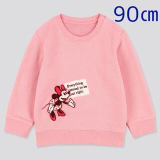 UNIQLO - 【新品未使用】ユニクロ ベビー ディズニー・ストーリーズ スウェットシャツ 90