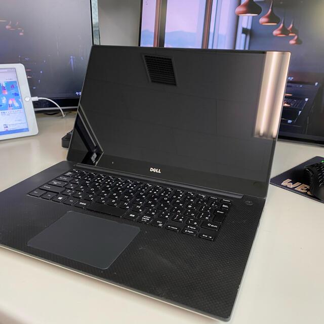DELL(デル)のXPS15 9550 4Kモデル スマホ/家電/カメラのPC/タブレット(ノートPC)の商品写真